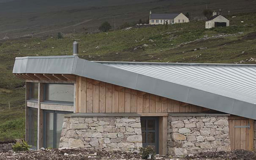 Hill Cottage over looking Loch Eriboll - Croft 103